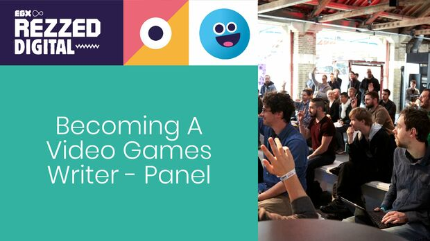 Image for Becoming A Video Games Writer - Panel