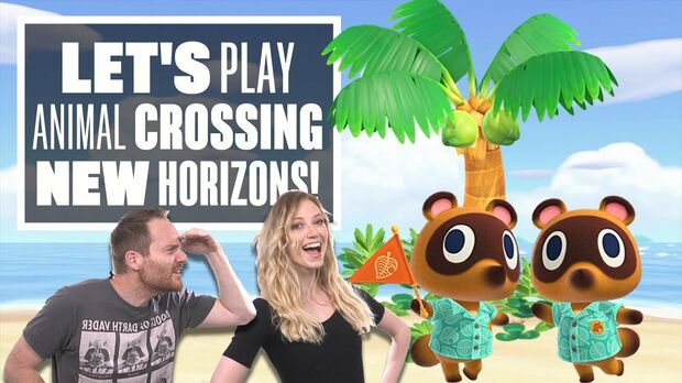 Image for Eurogamer plays Animal Crossing: Saturday Shenanigans live from Rezzed Digital 2020