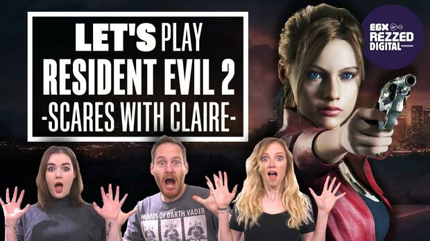 Image for Eurogamer Stream - Let's Play Resident Evil 2: SCARES WITH CLAIRE