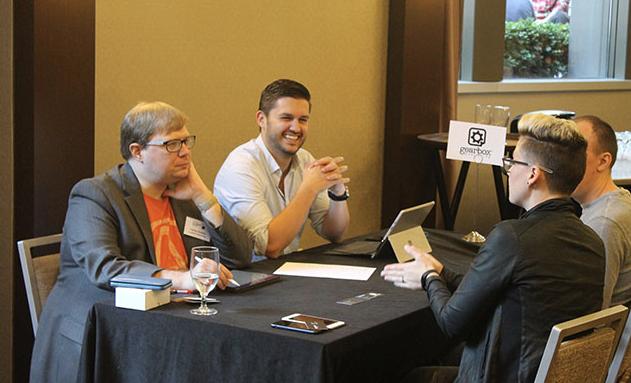 Gamesindustry.biz's Meet The Indies event at PAX East