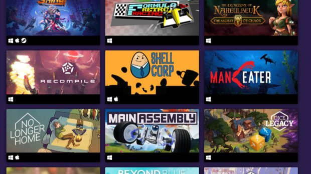 Steam Screenshot showing various games on sale